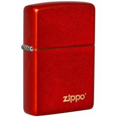 26954 Metallic Red Zippo Logo