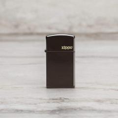 26958 Slim® Brown Zippo Logo